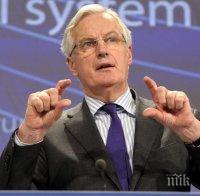 Мишел Барние: Великобритания трябва да спазва подписаните условия за Брекзит