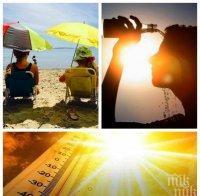 жегите продължават слънчева гореща неделя слънцето жули немилостиво карта