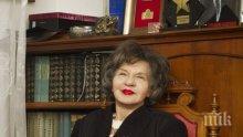 9 месеца без Стоянка Мутафова - ето къде ще е панихидата й...
