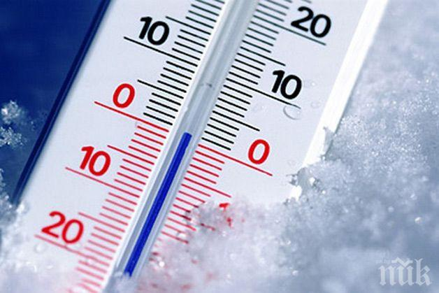 СТУД: Рекордно ниски температури в Словения за последния половин век