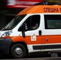 """Млада жена и бебе се борят за живота си след тежката катастрофа на магистрала """"Марица"""""""