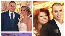 САМО В ПИК: Сватбата на сина на Йотова - с дъх на партиен банкет, но за поне 100 бона! Ето кой уши скъпарските рокли на снахата на вицепрезидента (УНИКАЛНИ СНИМКИ)