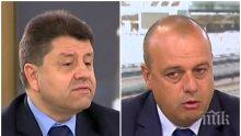 ЛЮТ СПОР В ЕФИР! Депутати от ГЕРБ и БСП се хванаха за гушите заради машинното гласуване