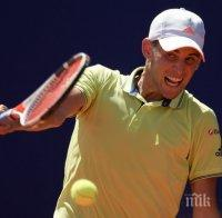 Доминик Тийм срещу Александър Зверев на финала на Откритото първенство на САЩ по тенис