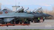 """Започва най-мащабната международна тренировка във въздушното пространство на страната ни """"Тракийска пепелянка – 2020"""""""
