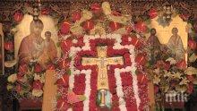 Кръстовден е - един от най-големите християнски празници, наричан Вторият Великден! Ето какво го прави толкова специален и кои черпят днес