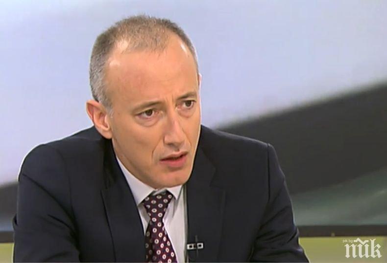Красимир Вълчев в последния ден от мандата си: За мен беше чест да заемам този пост