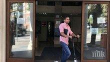 ИНОВАТИВНО: Инспектори от Варна тръгнаха на проверки с тротинетки и велосипеди