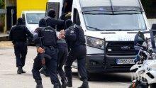 Арестуваха наркопласьори и апаши при специализирана акция в Свищов
