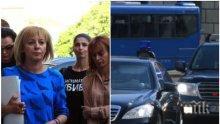 НСО с коментар за цирка на Мая Манолова в парламента: Няма да допуснем да бъдем употребявани за политически цели