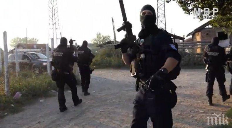 Спецоперация срещу битовата престъпност се провежда в Разградско
