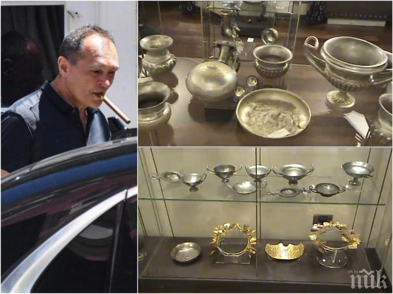 ПЪРВО В ПИК: Прокуратурата с жесток удар по Божков - иззе над 6500 артефакти от офиса на беглеца! Изскочиха нови ценни ритони (СНИМКИ/ВИДЕО)