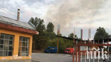 Прокуратурата разследва пожара в Захарната фабрика в Пловдив