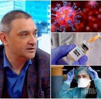 Доц. Андрей Чорбанов: Никой не е защитен да хване и грип, и коронавирус едновременно