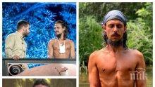 """НЕВЕРОЯТНО: Вижте как е изглеждал Илиян от """"Фермата"""", преди да се захване с йогата. Източните практики го избавили от гръбначни изкривявания само за 6 месеца (СНИМКИ)"""