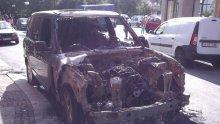 Джип изгоря при мистериозни обстоятелства в Карнобат