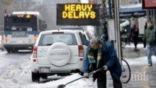 Първи сняг падна в Русия