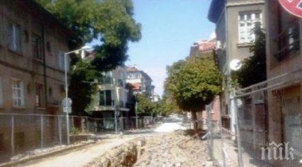 Пуснаха предсрочно движението по централна улица  в Пловдив