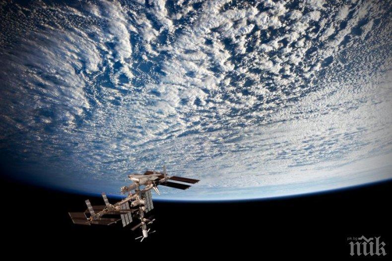 НАЙ-ПОСЛЕ: Космонавт съобщи, че Земята не е плоска и го доказа