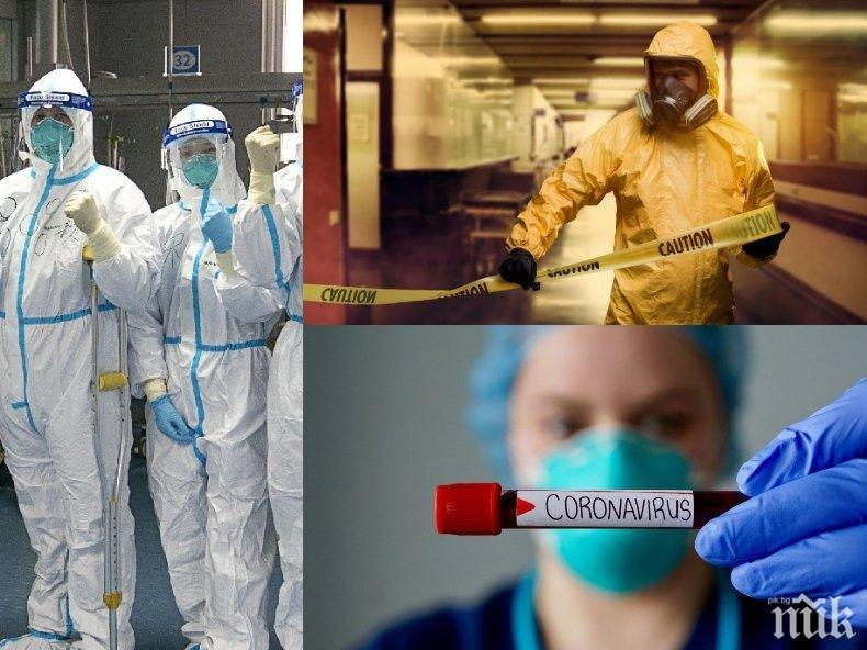 ПОСЛЕДНИ ДАННИ: 44 нови случая на COVID-19 от 1249 проби. 6 души са починалите от вируса за денонощието (ТАБЛИЦА)