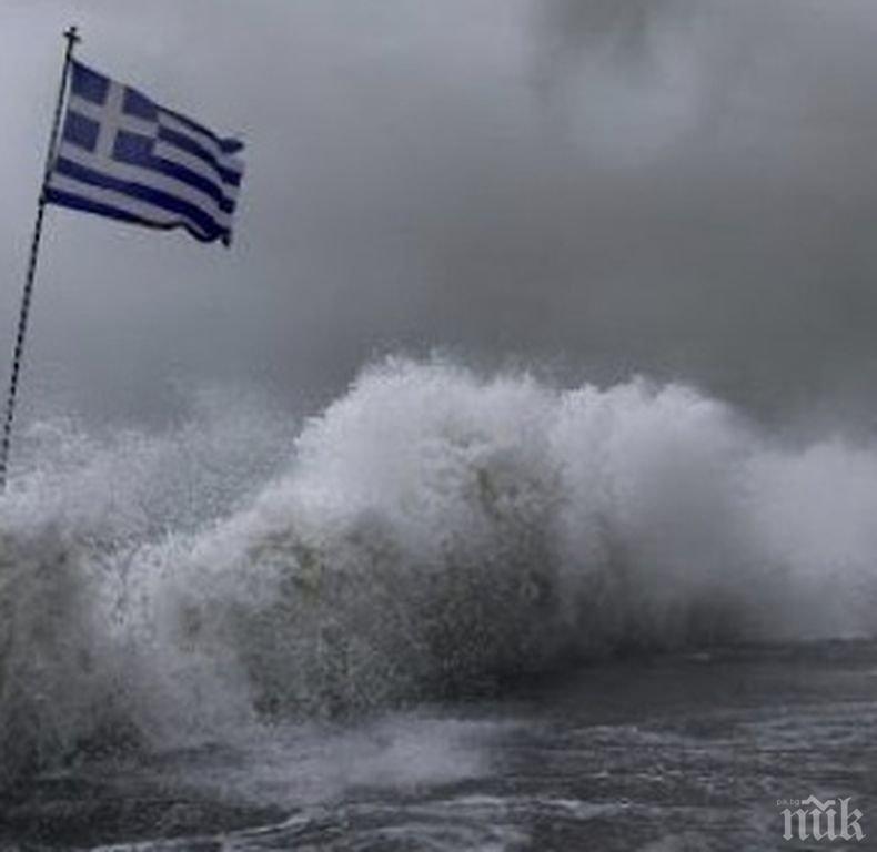 """Нова жертва на урагана """"Янос"""" в Гърция"""