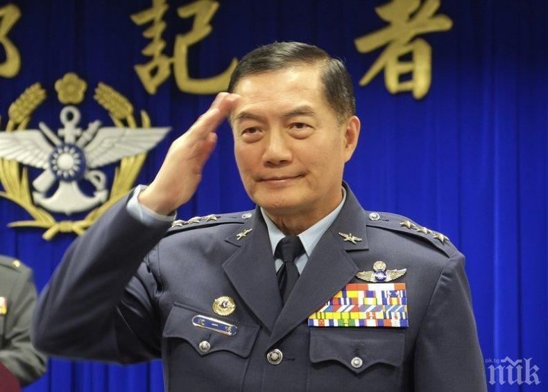 НАПРЕЖЕНИЕ В НЕБЕТО: Тайван пак вдигна изтребители, този път срещу 19 китайски самолета