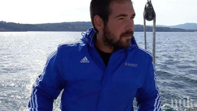 Ето го мъжа от Созопол, който спаси удавник на Мидения плаж