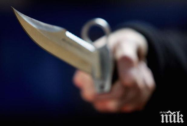 20-годишен бандит с богато досие опря нож в гърлото на таксиджийка