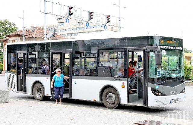 Спират нощния градски транспорт в София