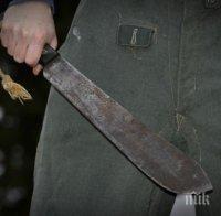 ВМРО С ПОТРЕСАВАЩО РАЗКРИТИЕ: Цигани сякоха с мачете мъж в Роман – брутални подробности (СНИМКИ 18+)