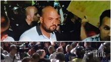 ПЪРВО В ПИК: Метежниците опитват да нахлуят в старата сграда на Народното събрание (ОБНОВЕНА/СНИМКИ)