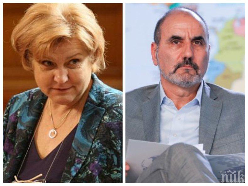 Менда Стоянова шамароса Цветанов: Ако не е споделял ценностите на ГЕРБ, трябваше по-рано да напусне партията