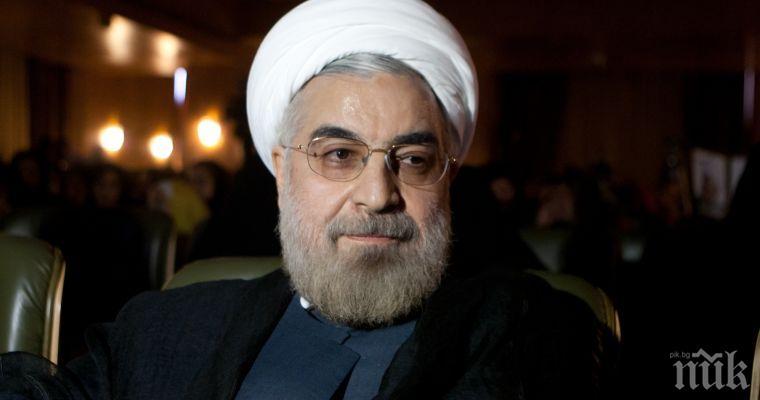 Рохани остро към САЩ: Не могат да наложат нито преговори, нито война на Иран