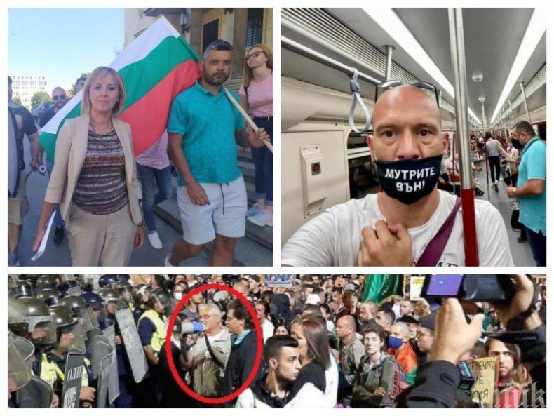 Полицай със счупена глава след кървавия метеж снощи! Хората на Манолова и ултраси от София на първа линия в атаките с бомби и камъни