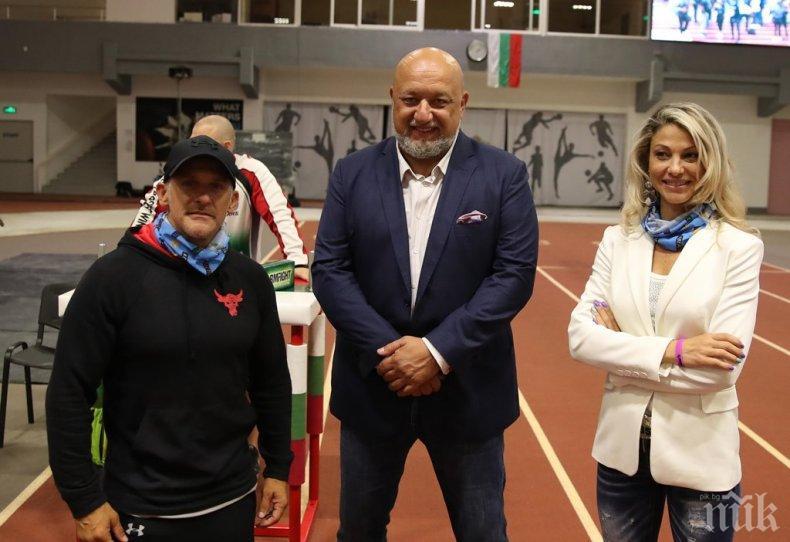 Министър Кралев посети спортния панаир #BeActiveFair