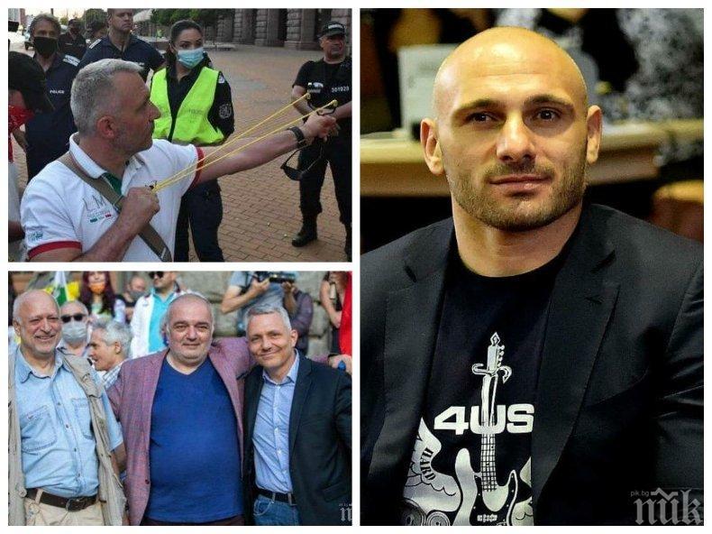 Стъки гневен на метежниците на Радев: Заради болните амбиции за власт на слугите на мафията - Барбаян, Хаджикян и Минекян, на празника няколко хиляди български полицаи са на улицата, вместо при семействата си