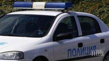 Три камиона се удариха верижно, има тапа на изхода на Бургас (СНИМКИ)