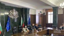 Главният прокурор Иван Гешев и СГС обсъдиха битовата престъпност и корупцията на съвещание