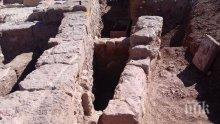 Разкриват храма на тракийския цар Терес край Карлово