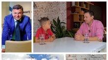 ХИТ В МРЕЖАТА: Синът на Милен Цветков с култови фрази: Депутатите трябва да се избират с кастинг. Когато порасна, ще стана миньор