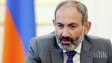 По жицата: Премиерът на Армения и канцлерът на Германия обсъдиха ситуацията в Карабах