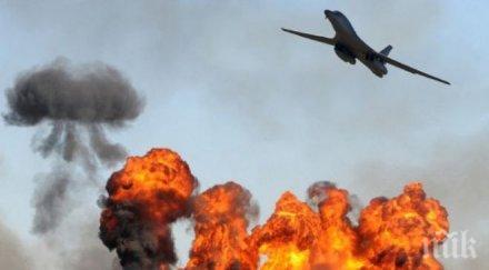 петима цивилни убити ракетна атака летището багдад