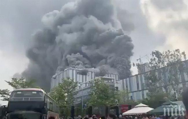 Взриви се лаборатория на Huawei в Китай (ВИДЕО)