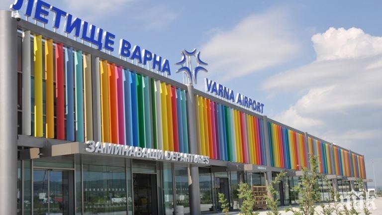 АНТИРЕКОРД: Летищата в Бургас и Варна отчитат спадове от 86% и 71%