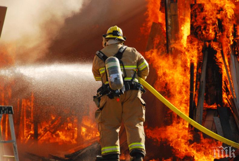 ОГНЕНА СТИХИЯ! Мъж загина при пожар в Дебелец