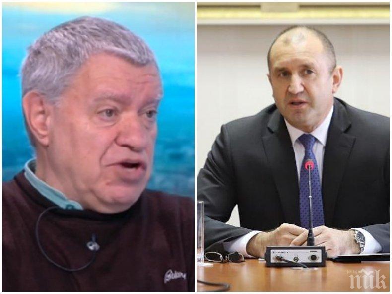Проф. Михаил Константинов с остър коментар за Румен Радев: Недопустимо е да говори по този начин! Като спечели изборите, нямаше проблем с хартиените бюлетини