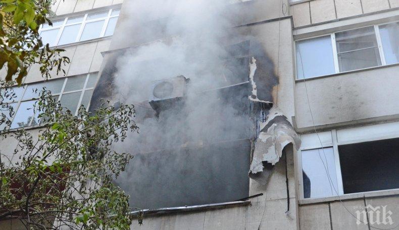 ИЗВЪНРЕДНО: Газова бутилка се взриви в Бургас, има пострадали