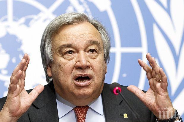 Генералният секретар на ООН със силни думи: Преминаването на броя на жертвите на коронавируса над 1 млн. души е шокиращо