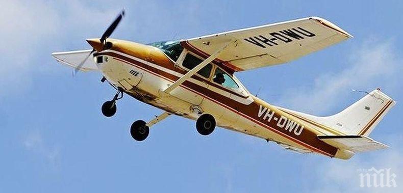 Лекомоторен самолет се разби край Самара. Един човек е ранен