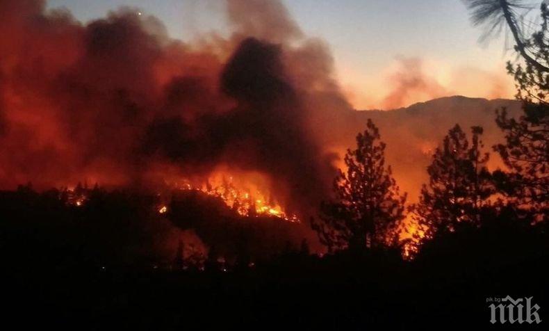 ОГНЕН АД! Огромна опасност от пожари грози половин България днес (КАРТА)